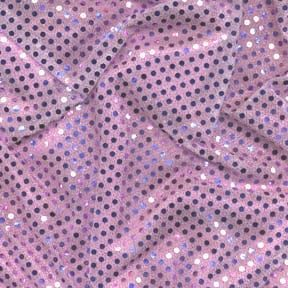 SALE Stretch 3mm Dot Fabric Lilac, by the yard