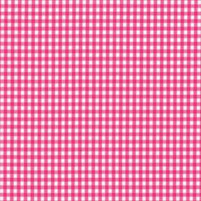 SALE 60″ Gingham Fabric Small Check Fuschia by the yard