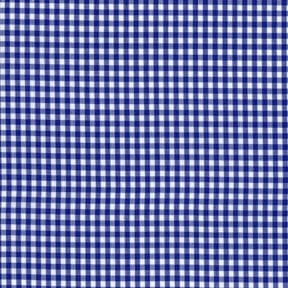 Sale 45″ Gingham Fabric Small Check Royal by the yard