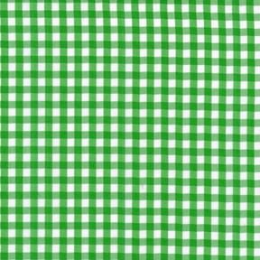 Sale 45″ Gingham Fabric Medium Check Kelly Green by the yard