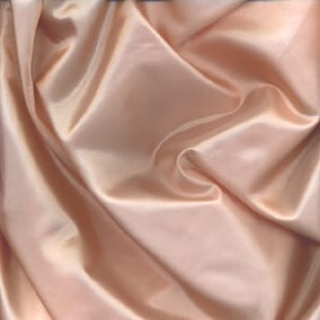 SALE China Silk Fabric Peach, by the yard