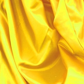 SALE China Silk Fabric Yellow, by the yard