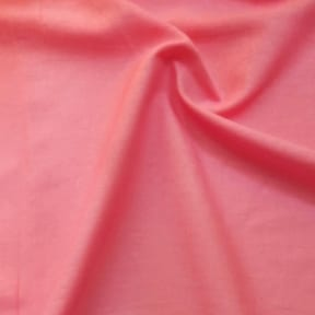Island Linen Blend Fabric Coral, by the yard