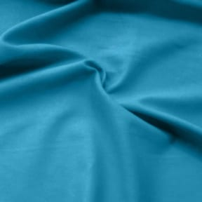 Island Linen Blend Fabric Turquoise, by the yard