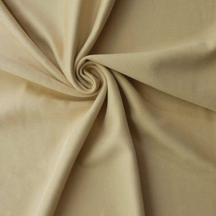 Luxe Stretch Two-Ply Microfiber Suede/Scuba Fabric Buff 10 yard bolt