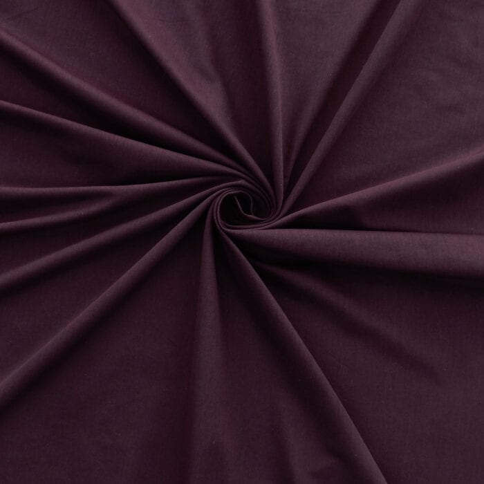 SALE 100% Rayon Jersey Fabric 2664 Eggplant, by the yard