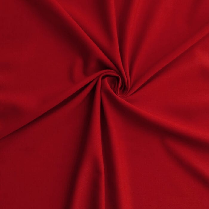 Sale Luxe Triacetate Faille Fabric 2659 Scarlet, by the yard