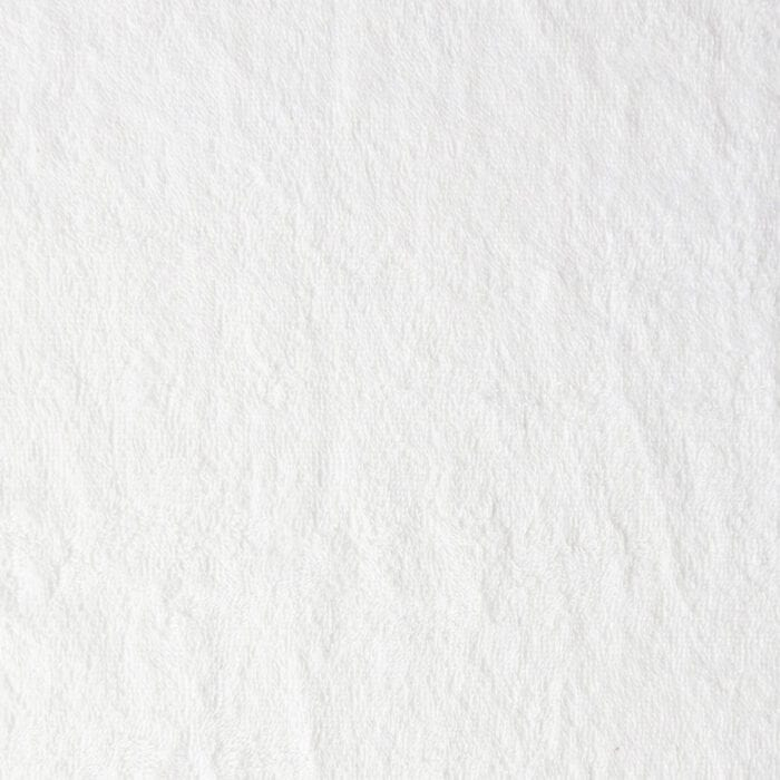 Sale Plush Loop Terry Fabric 4069 White, by the yard