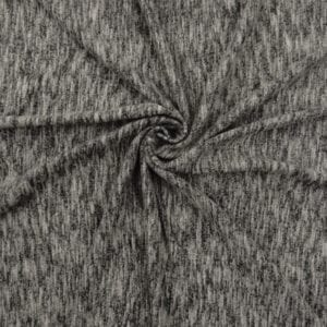 SALE Cotton Wool Sweater Knit Fabric 5016 Heater Gray, by the yard