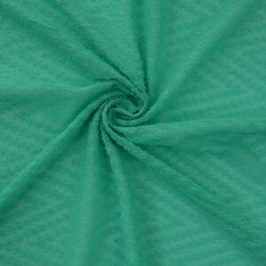 SALE Chiffon Clipped Sheer 5025 Mint, by the yard