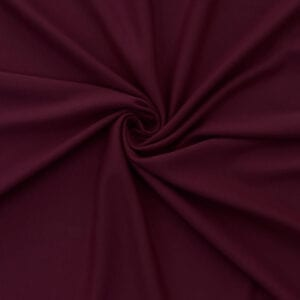 SALE Stretch Cotton Baby Jersey Fabric 5036 Burgundy, by the yard