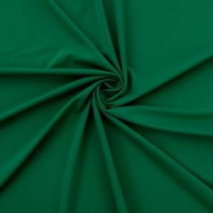 SALE Matte Spandex Fabric 5100 Emerald, by the yard