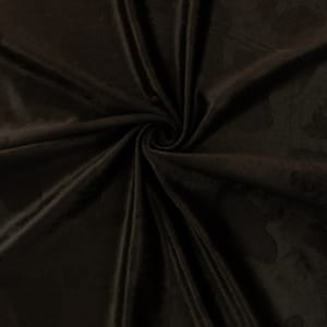 SALE Cow Embossed Suede Fabric 5108 Brown, by the yard